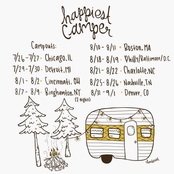 Campout dates